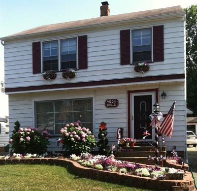 South Euclid Single Family Home For Sale: 4054 Hinsdale Rd