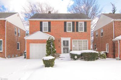 South Euclid Single Family Home For Sale: 3758 Sherwood Rd