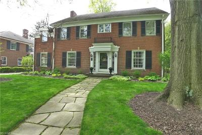 Shaker Heights Single Family Home For Sale: 2952 Kingsley Rd