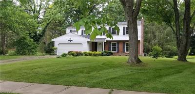 Brecksville, Broadview Heights Single Family Home For Sale: 8402 Vera Dr