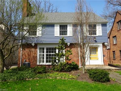 Shaker Heights Single Family Home For Sale: 3316 Lansmere Rd
