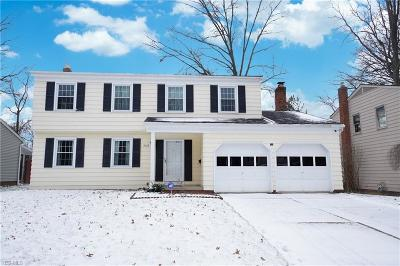 South Euclid Single Family Home For Sale: 4632 Wilburn Dr