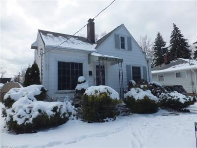 Cleveland Single Family Home For Sale: 1709 Mayview Ave