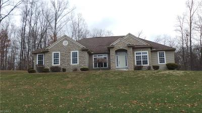 Guernsey County Single Family Home For Sale: 66200 Broom Rd