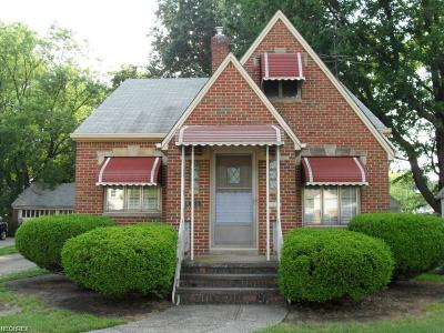Cleveland OH Single Family Home Sold: $90,000