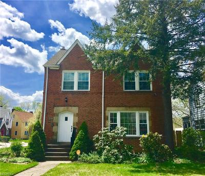 Cleveland Heights OH Single Family Home For Sale: $139,900
