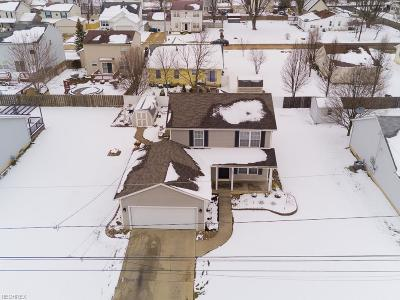 North Ridgeville Single Family Home For Sale: 33976 Floraline St