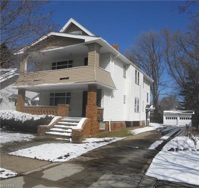 Cuyahoga County Multi Family Home For Sale: 3715 Melbourne Ave