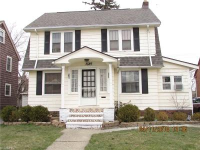 South Euclid Single Family Home For Sale: 3889 Grosvenor Road
