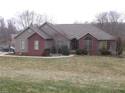 Guernsey County Single Family Home For Sale: 62935 Merrick Rd