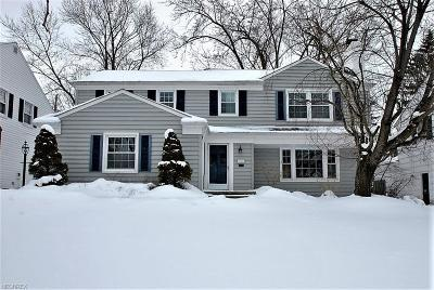 Shaker Heights Single Family Home For Sale: 22532 Byron Rd