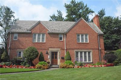 Shaker Heights Single Family Home For Sale: 3368 Clayton Blvd