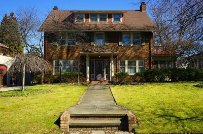 Shaker Heights Single Family Home For Sale: 2909 Weymouth Rd