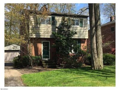 North Olmsted Single Family Home For Sale: 5393 Wellesley Ave
