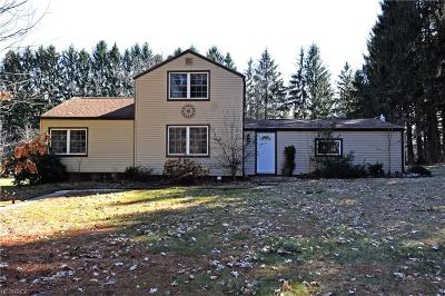 Hubbard Single Family Home For Sale: 7152 Stewart Sharon Rd