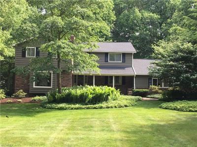 Chagrin Falls Single Family Home For Sale: 231 Hawthorne Dr