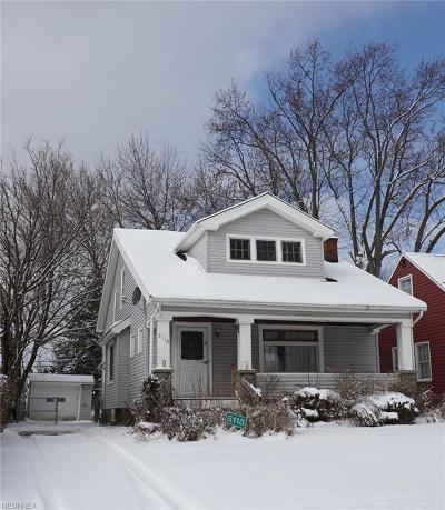 Maple Heights Single Family Home For Sale: 5118 Philip Ave