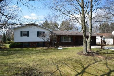 Warren Single Family Home For Sale: 525 Howland Wilson Rd Northeast
