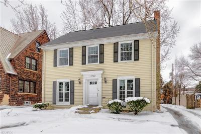 Shaker Heights Single Family Home For Sale: 17702 Berwyn Rd