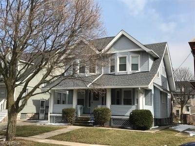 Lakewood Single Family Home For Sale: 1421 Lauderdale Ave