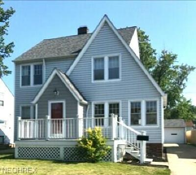 Euclid OH Single Family Home For Sale: $99,400