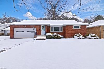 Euclid Single Family Home For Sale: 1761 Sherwood Blvd