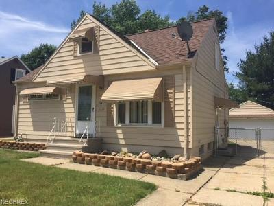 Wickliffe Single Family Home For Sale: 1798 Rush Rd