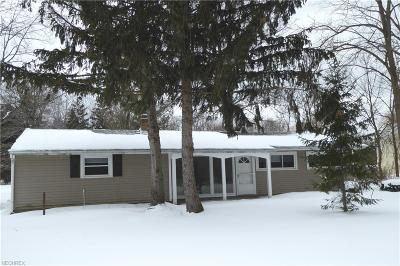Chesterland Single Family Home For Sale: 12750 Manchester Drive