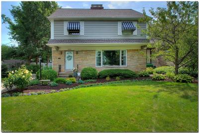 Cuyahoga County Single Family Home For Sale: 2307 Riverside Dr