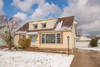 Willowick Single Family Home For Sale: 30029 Barjode Rd