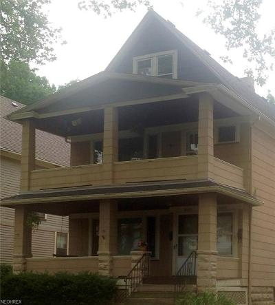Shaker Heights Multi Family Home For Sale: 2560 Cheshire Road