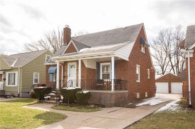 Cleveland Single Family Home For Sale: 4490 West 157th St