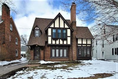 Shaker Heights Single Family Home For Sale: 16807 Fernway Rd
