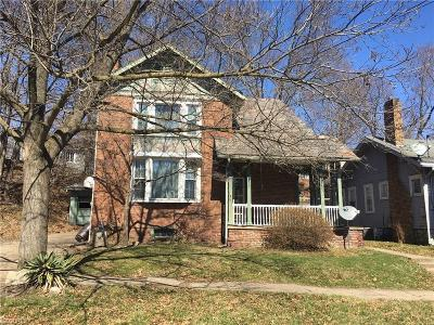 Zanesville OH Single Family Home For Sale: $79,500