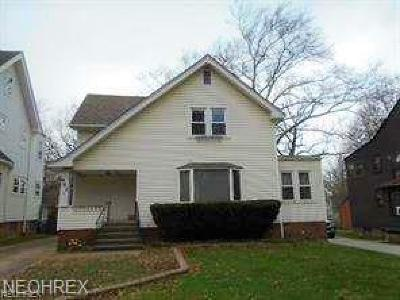 Cleveland Heights Single Family Home For Sale: 962 Roanoke Rd
