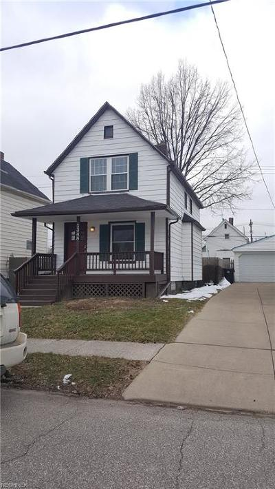 Cleveland Single Family Home For Sale: 3348 West 90th St