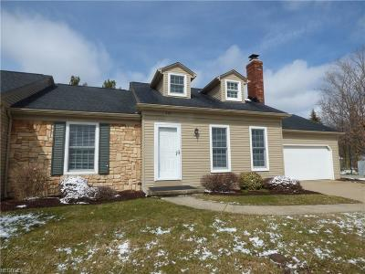 Medina OH Condo/Townhouse For Sale: $132,900