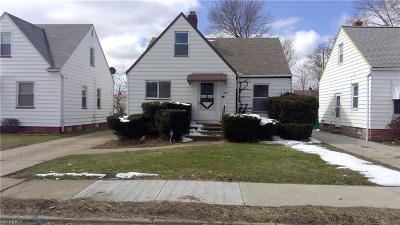 Maple Heights Single Family Home For Sale: 5174 Arch St