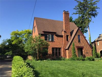 Shaker Heights Single Family Home For Sale: 15908 Chadbourne Rd