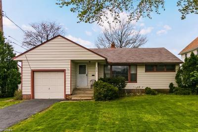 South Euclid Single Family Home For Sale: 2064 Warrensville Center Rd