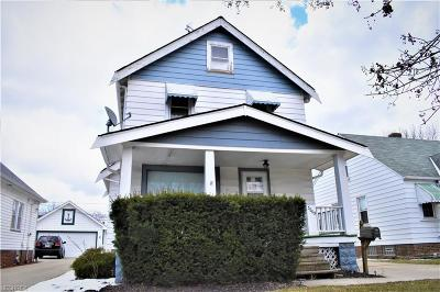 Cleveland Single Family Home For Sale: 3865 West 137th St
