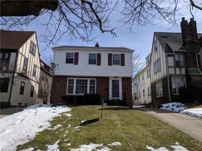 Shaker Heights Single Family Home For Sale: 3621 Winchell Rd