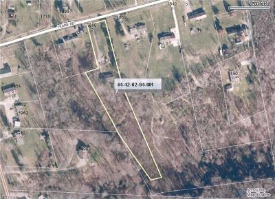 Muskingum County Residential Lots & Land For Sale: 1680 Frame Rd