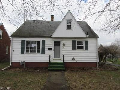 Single Family Home For Sale: 115 Bonnieview Ave