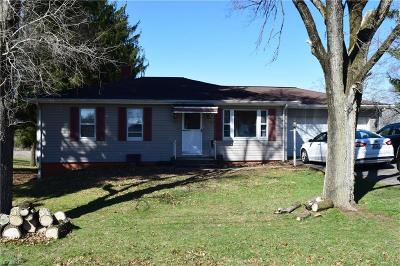 Zanesville OH Single Family Home For Sale: $102,500