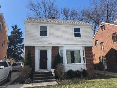 Cleveland Single Family Home For Sale: 3286 West 157th St