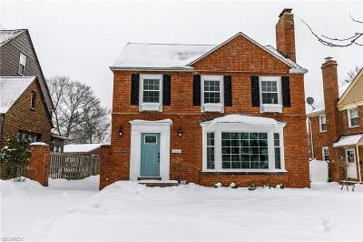 Shaker Heights Single Family Home For Sale: 3616 Norwood Rd