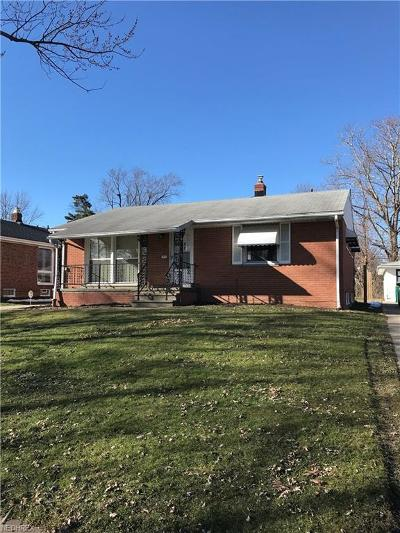 Maple Heights Single Family Home For Sale: 16017 Steinway Blvd