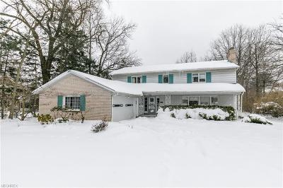 Shaker Heights Single Family Home For Sale: 2676 Green Rd