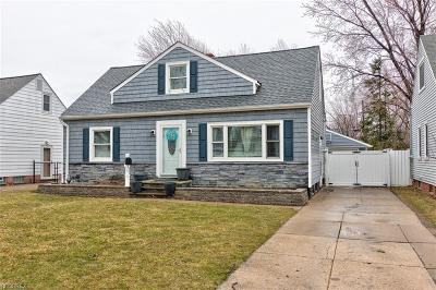Willowick Single Family Home For Sale: 29832 Fairway Blvd